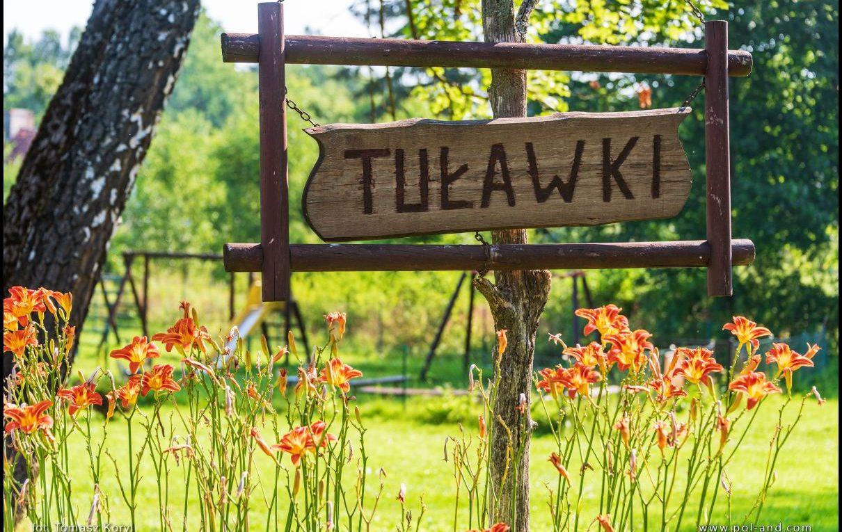 Wieś Tuławki, gmina Dywity, powiat olsztyński, warmińsko-mazurskie. Dawna niemiecka nazwa Tollack